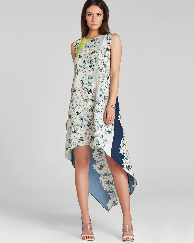Lyst - Bcbgmaxazria Bcbg Max Azria Dress Helene Print ...