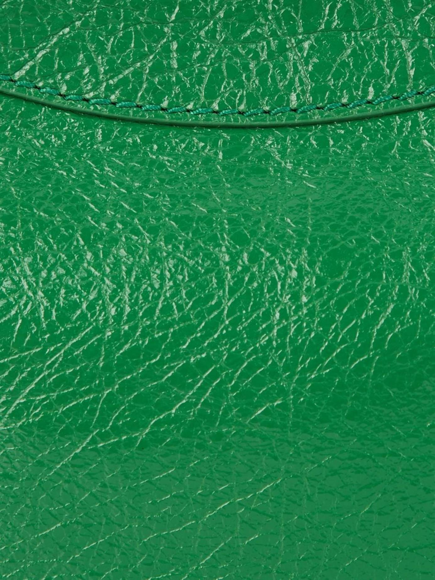 Balenciaga Giant 12 Hip Cross-Body Bag in Green