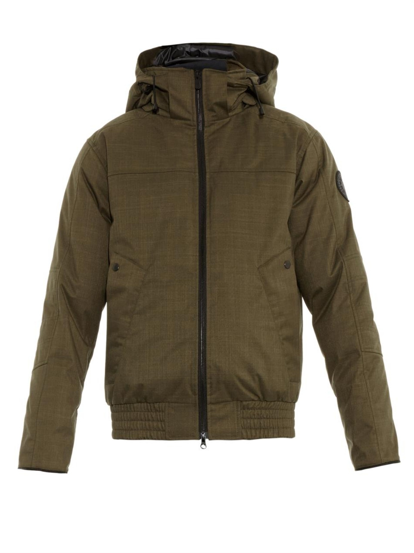 Men's Canada Goose' 'Chilliwack' Down Bomber Jacket With Genuine
