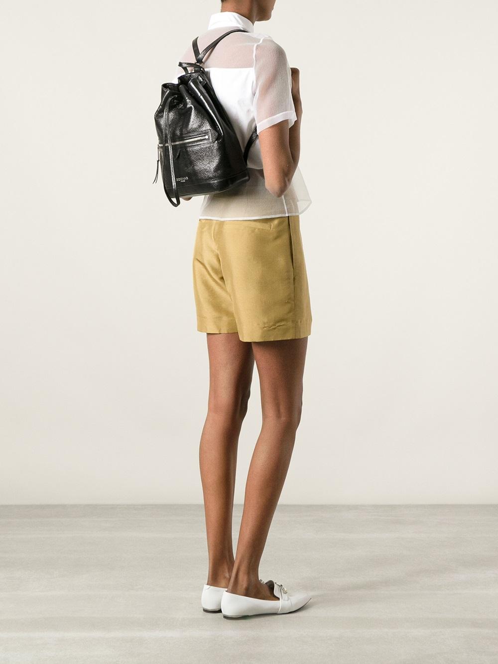 Lyst Rochas Karina Backpack In Black