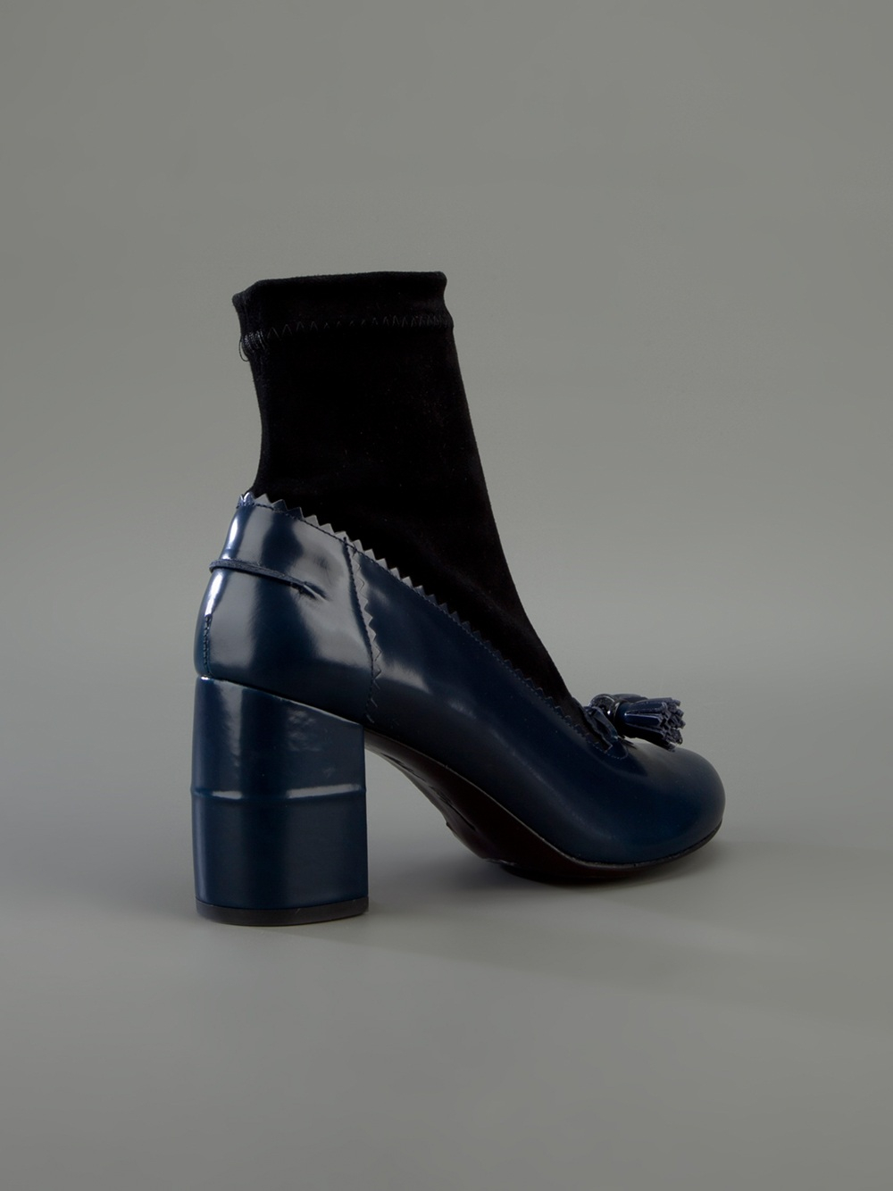 Lyst Robert Clergerie Karco Boot In Blue