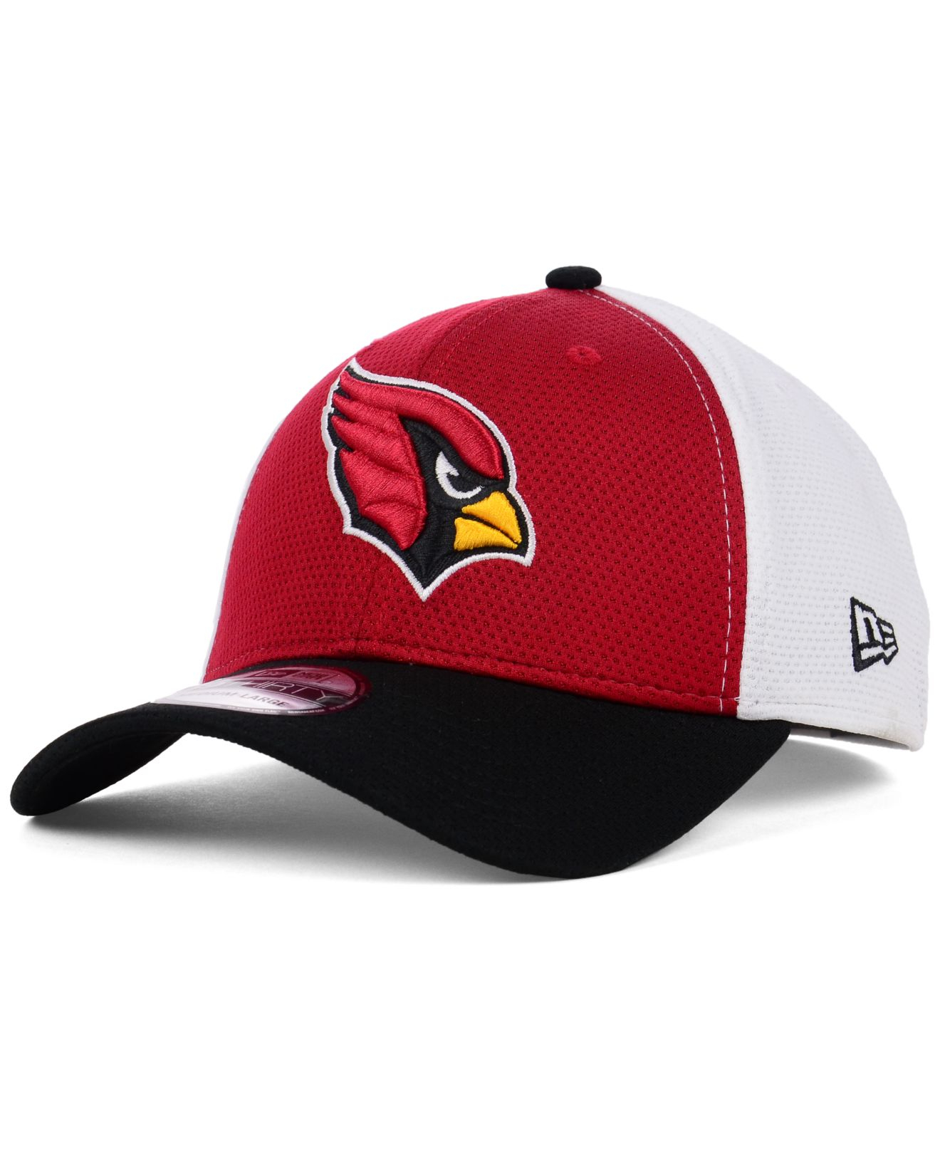 new era arizona cardinals logo stretch 39thirty cap in red. Black Bedroom Furniture Sets. Home Design Ideas