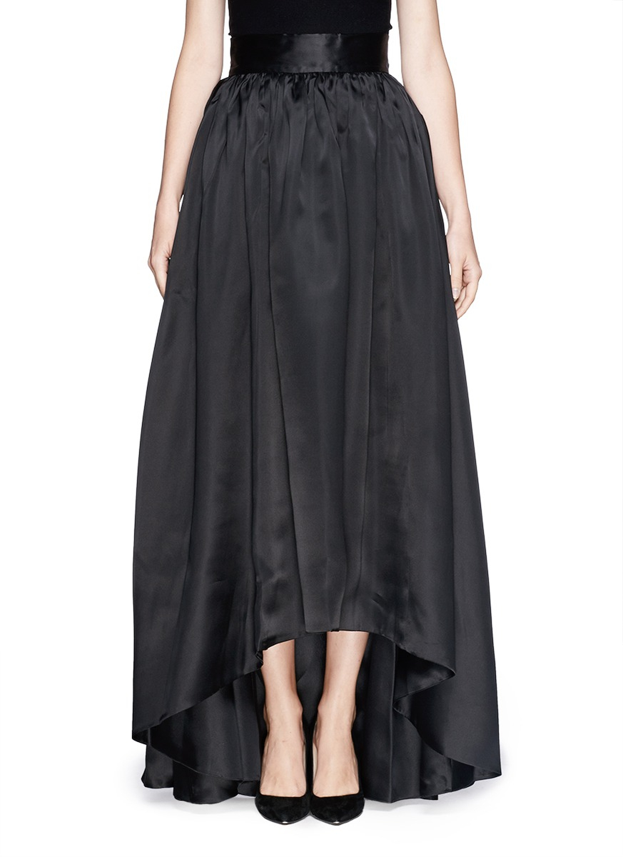St John Organza Ball Gown Skirt In Black Lyst
