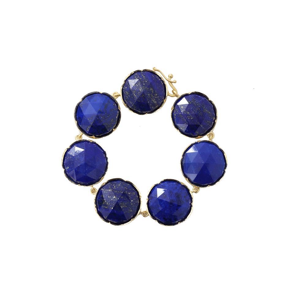 Lyst Irene Neuwirth Rose Cut Lapis Bracelet In Blue