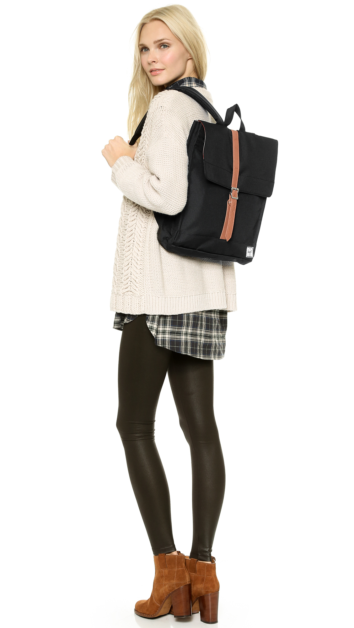 2a3d68437292 Lyst - Herschel Supply Co. City Backpack in Black