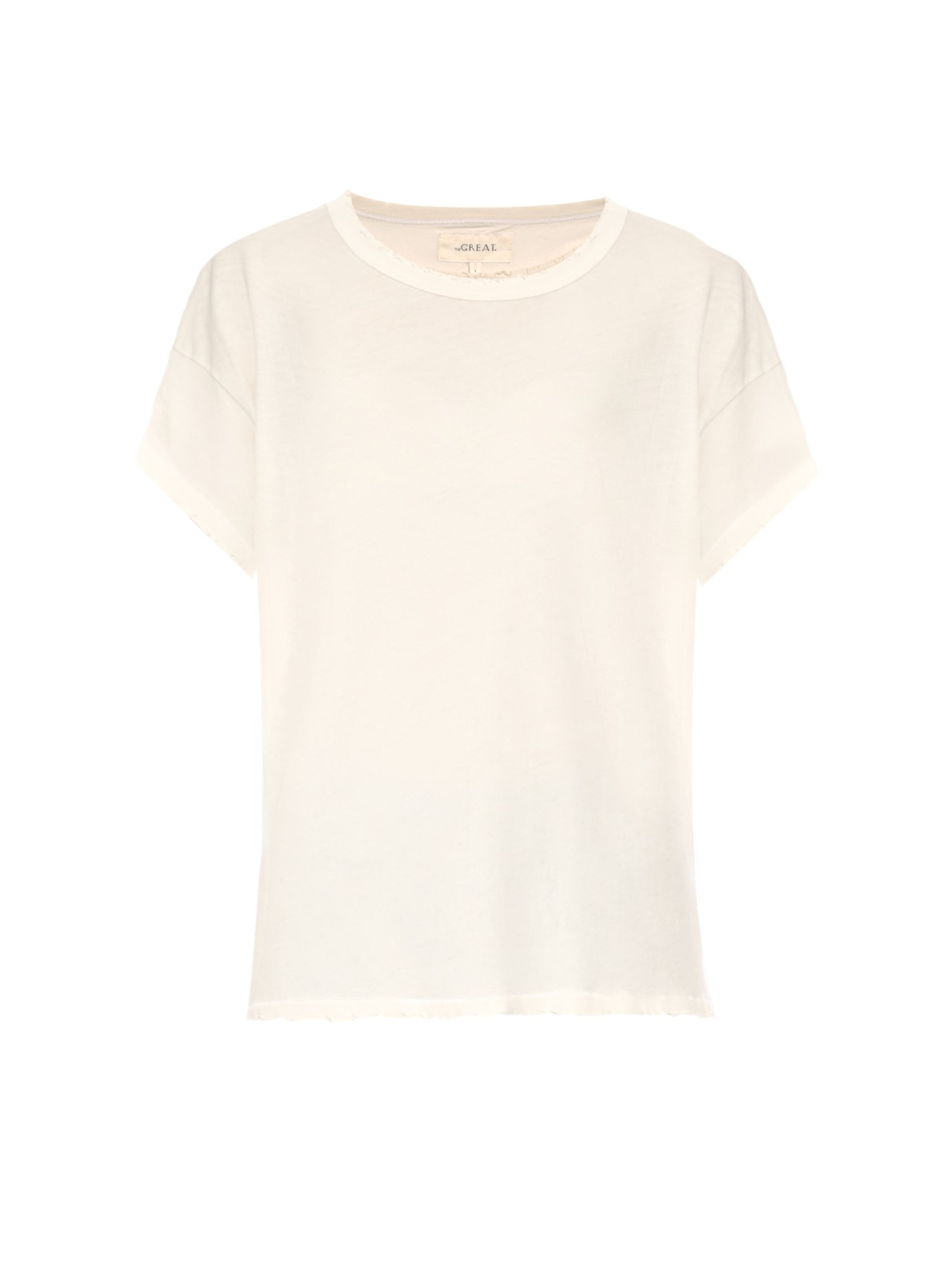 The Great The Boxy T Shirt In White Lyst