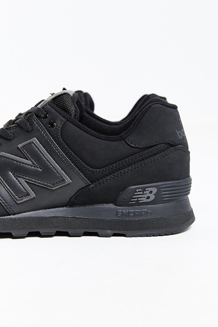 pretty nice 5e56b 19d81 official store all black new balance 574 afe88 e6e1f