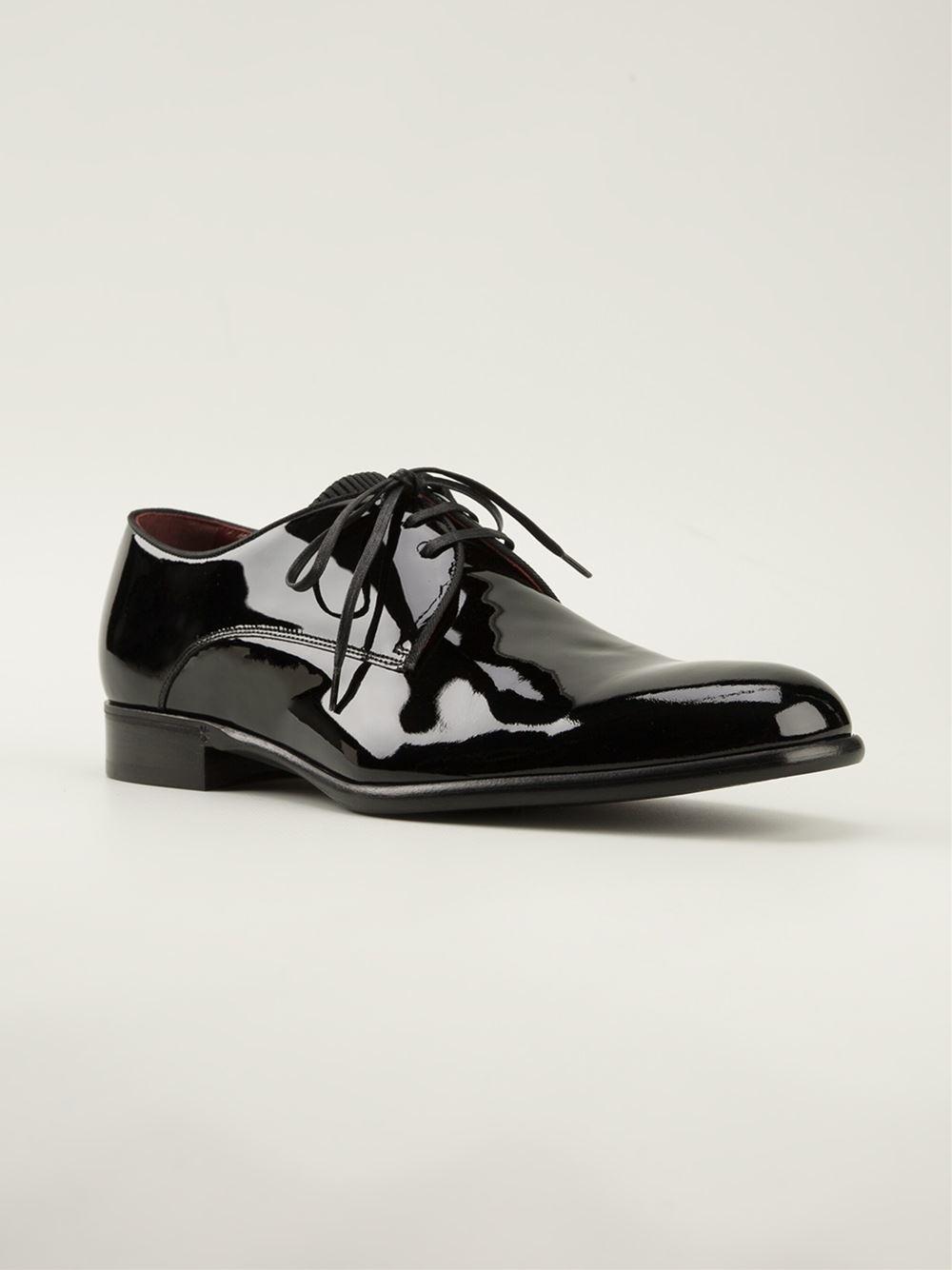 Dolce \u0026 Gabbana Patent Derby Shoes in