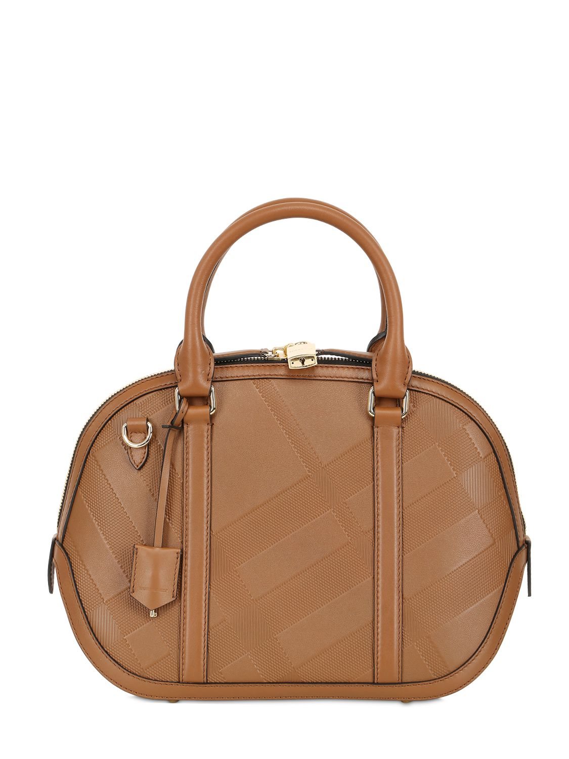 71d6a0e3c6be Lyst burberry small orchard embossed leather bag in brown jpg 1125x1500 Burberry  brown bag