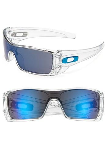 Oakley Batwolf Sunglasses Clear In Multicolor For Men
