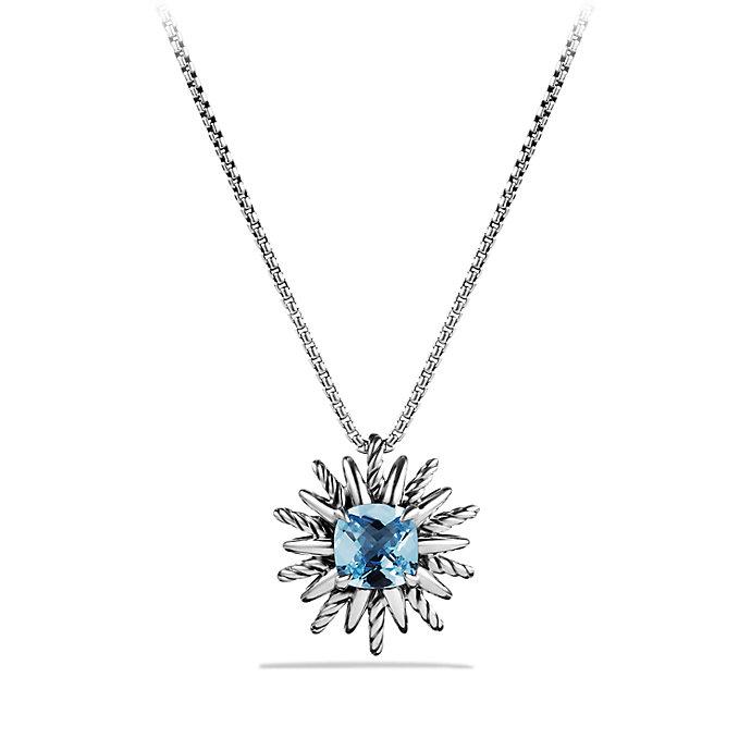 Lyst david yurman starburst pendant necklace in metallic gallery mozeypictures Images