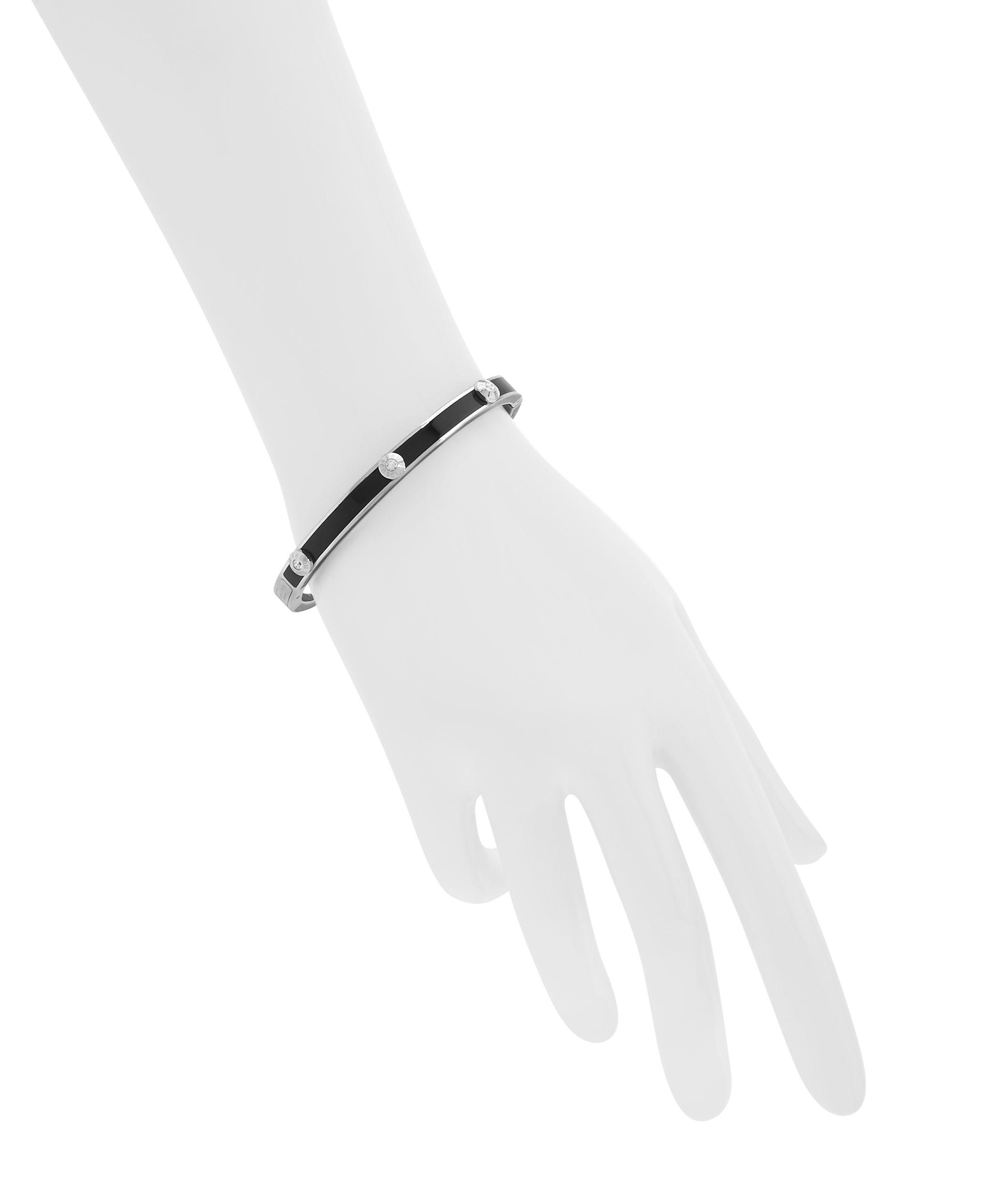 Lyst Henri Bendel Miss Bendel Rivet Bangle Bracelet In Black