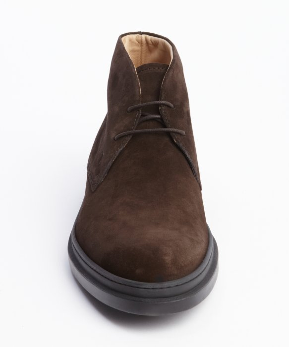 Lyst Tod S Marrone Suede Lace Up Chukka Boots In Brown
