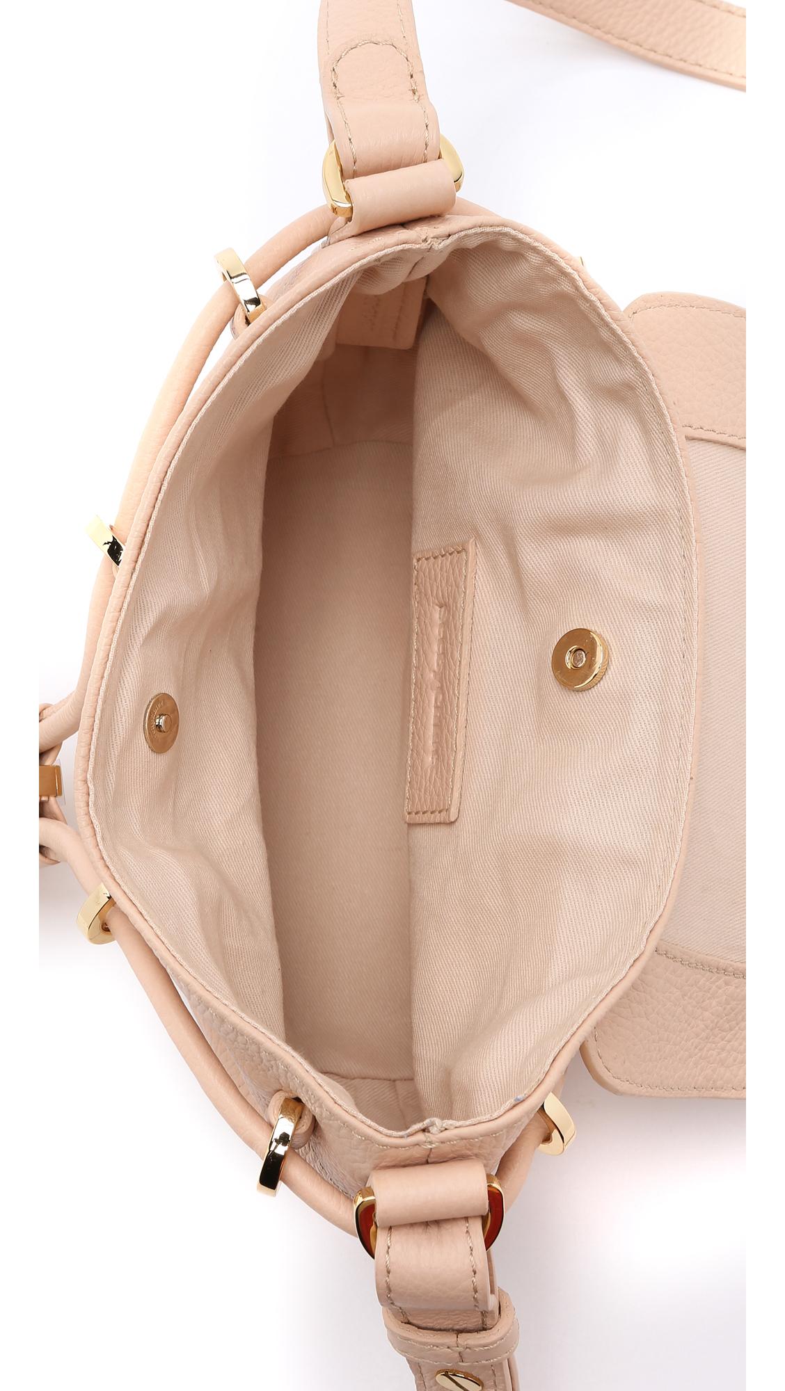 See By Chloé Vicki Mini Cross Body Bag - Cherry Boom in Nude (Pink)