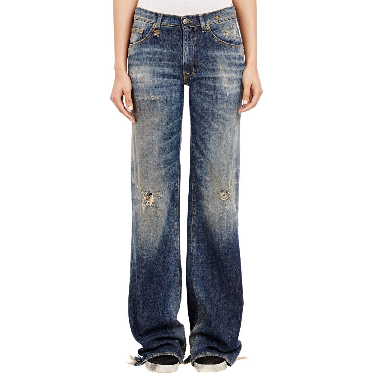 Womens Black True Religion Jeans