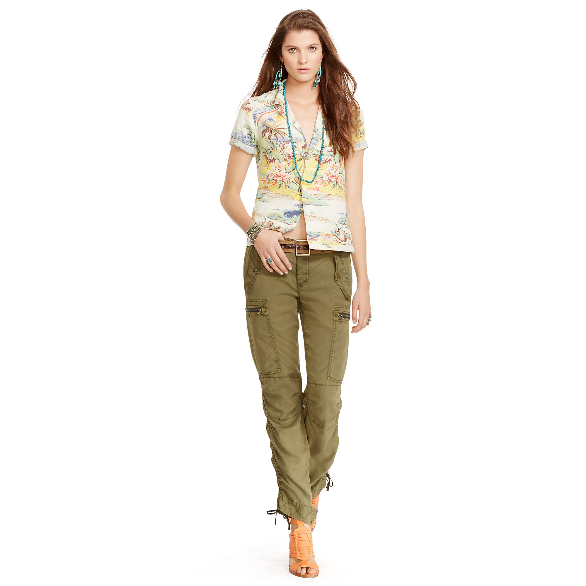 Awesome Polo Ralph Lauren Women39s Skinny Utility Cargo Pant  Walmartcom