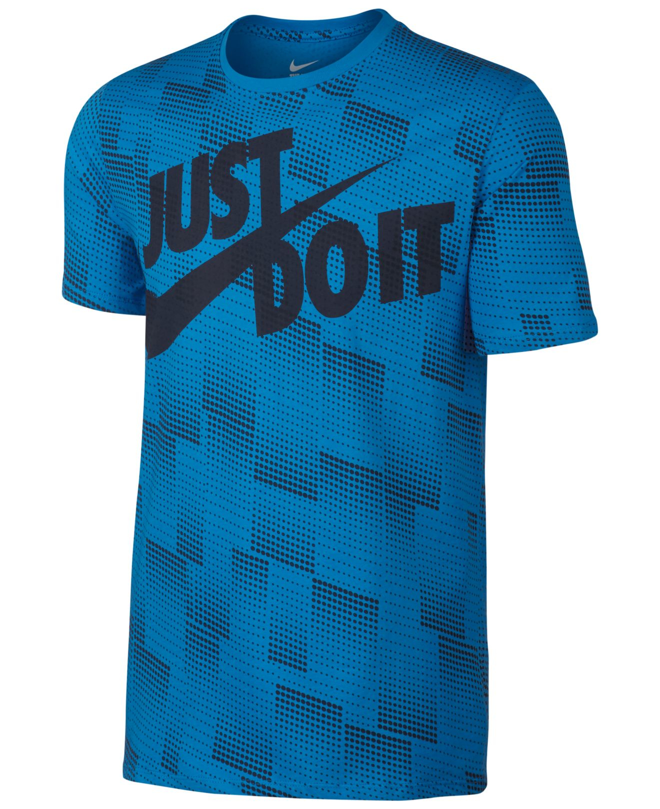Nike Men 39 S Ultra Just Do It T Shirt In Blue For Men Lyst