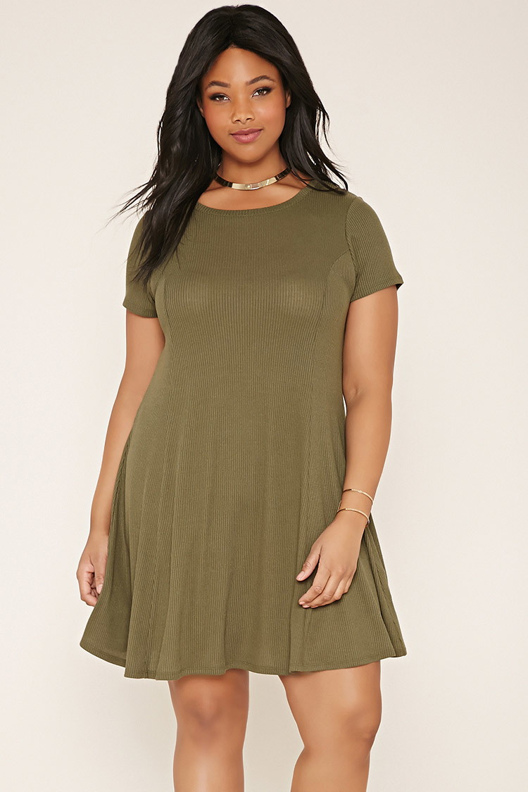Plus Size T-shirt Dress You\'ve Been Added To The Waitlist