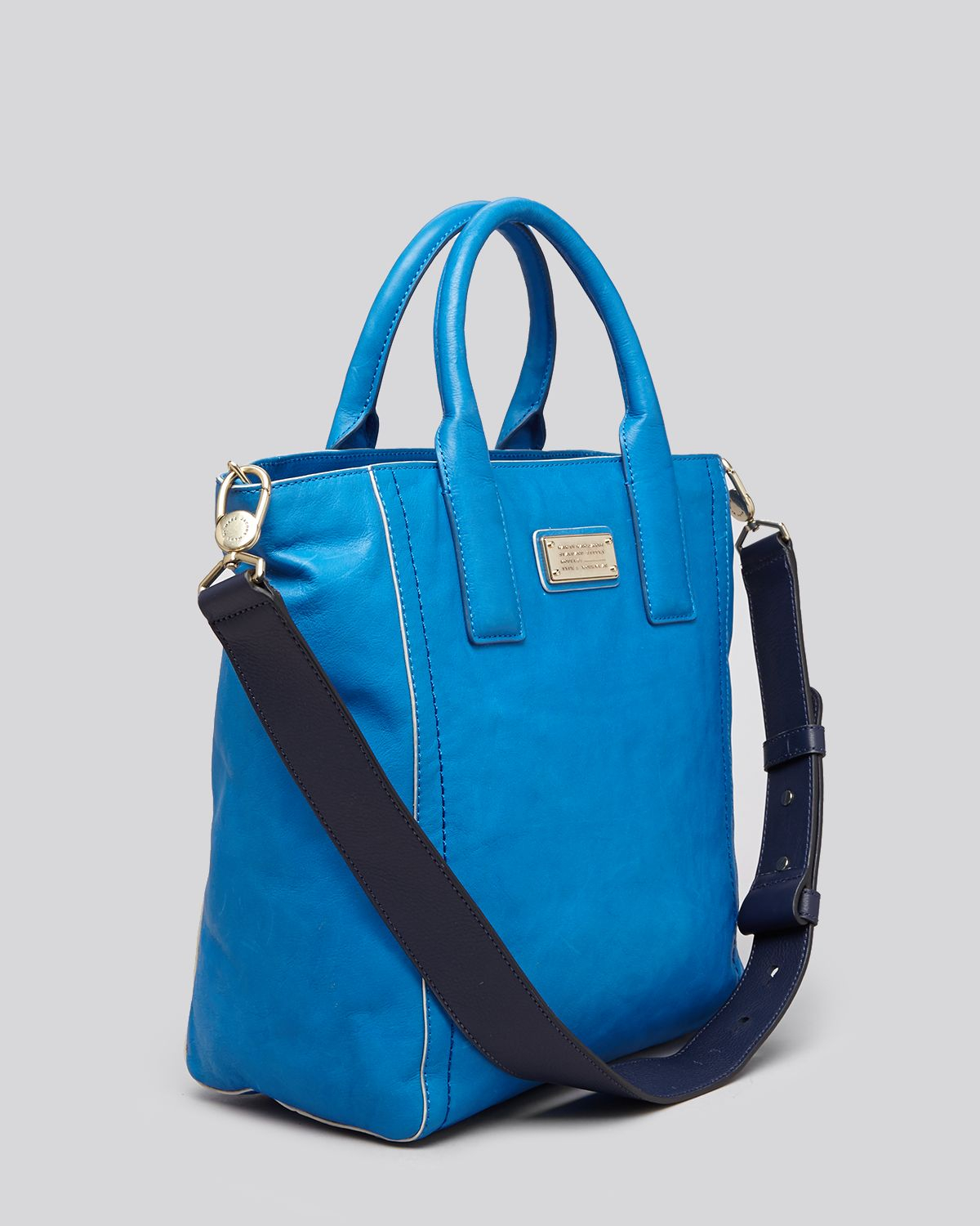 Marc By Marc Jacobs Tote - Mility Utility With Contrast Piping in Blue