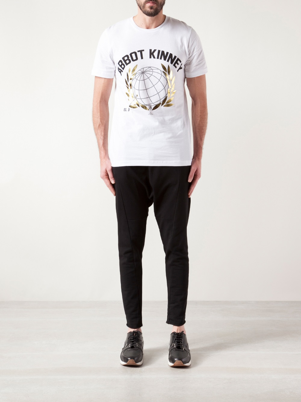 LPD New York Graphic Tshirt in White for Men
