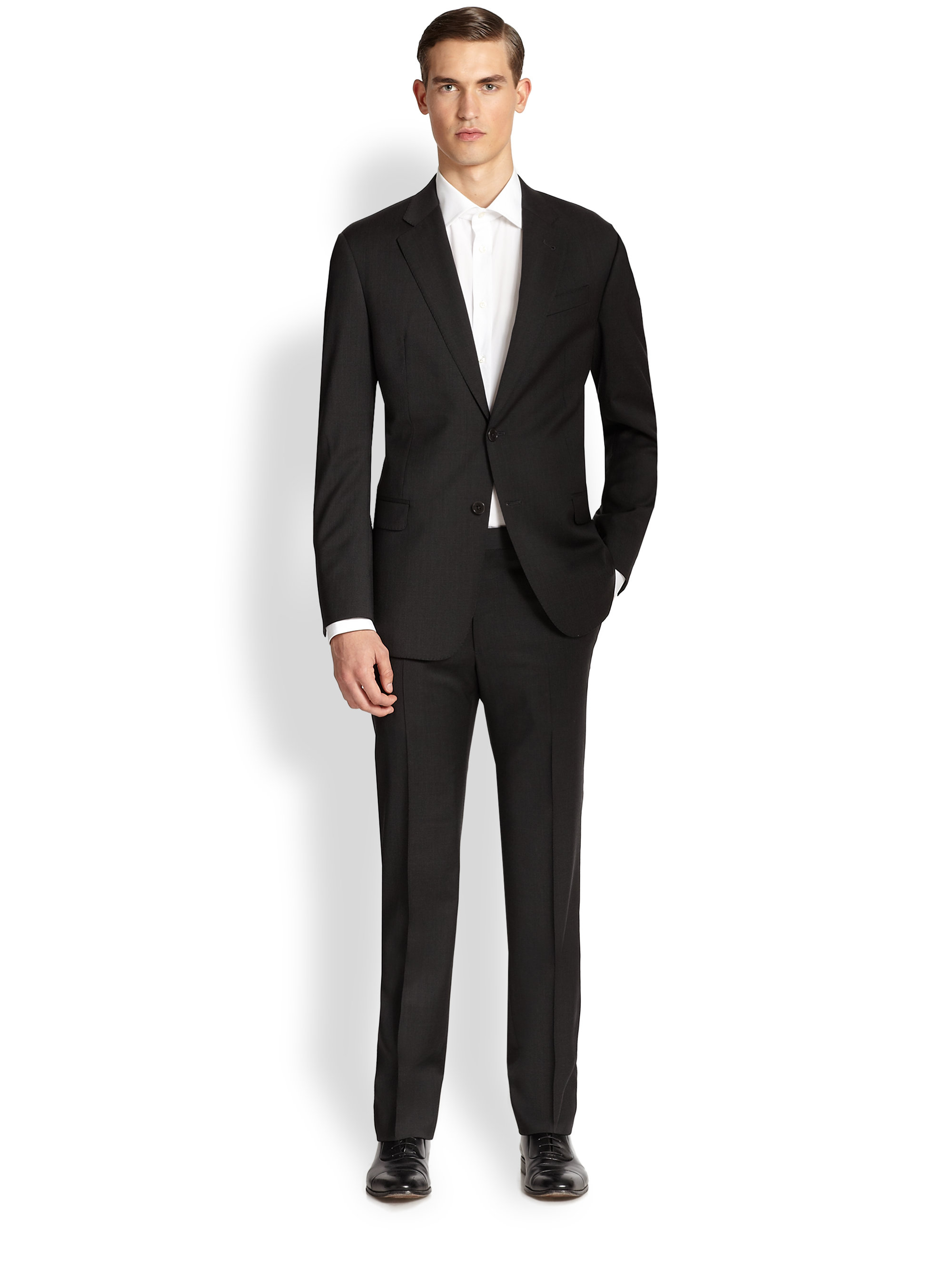 the gallery for gt armani black wedding suits for men