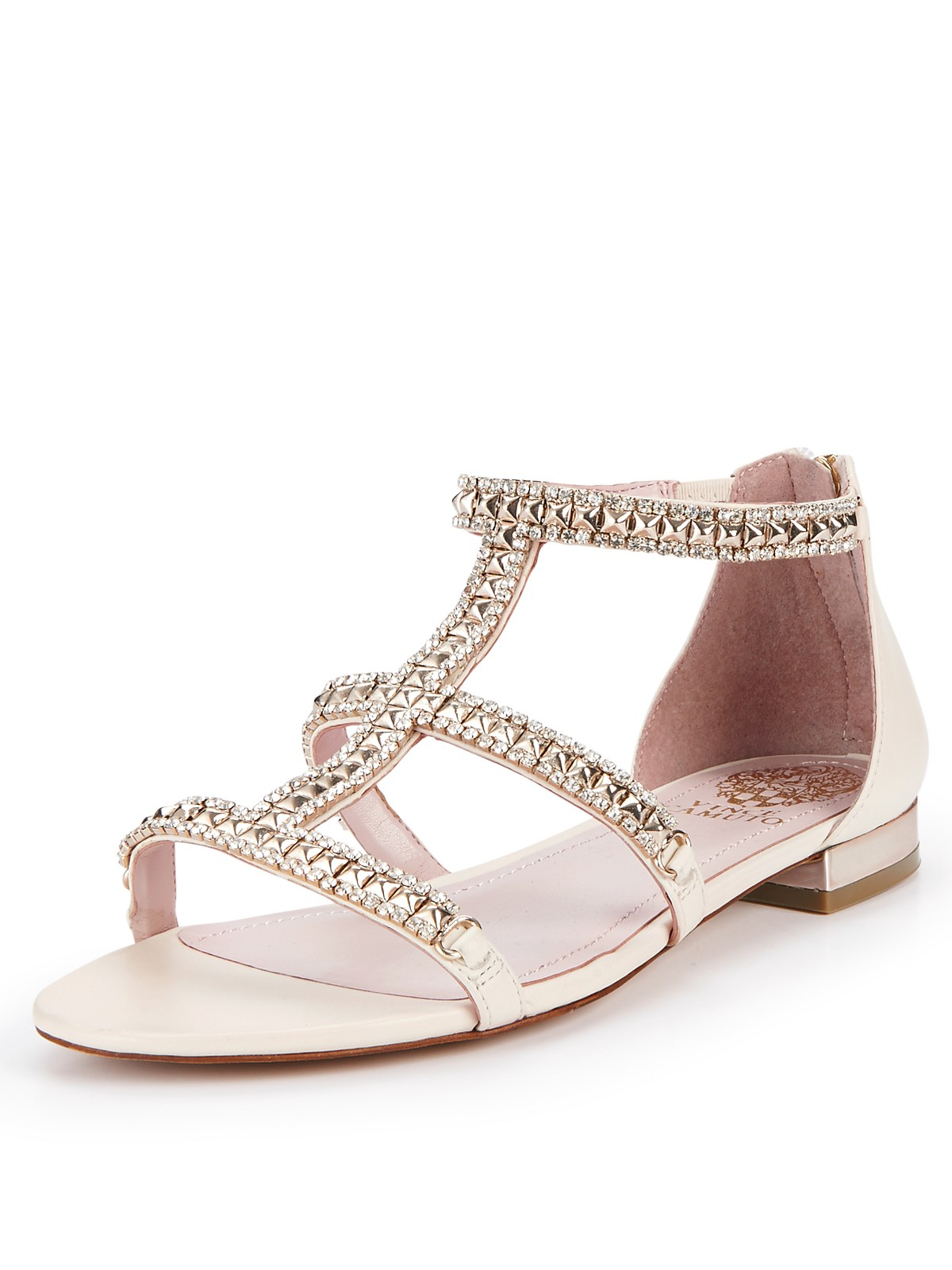 Vince Camuto Vince Camuto Hilinda Cous Flat Sandals In