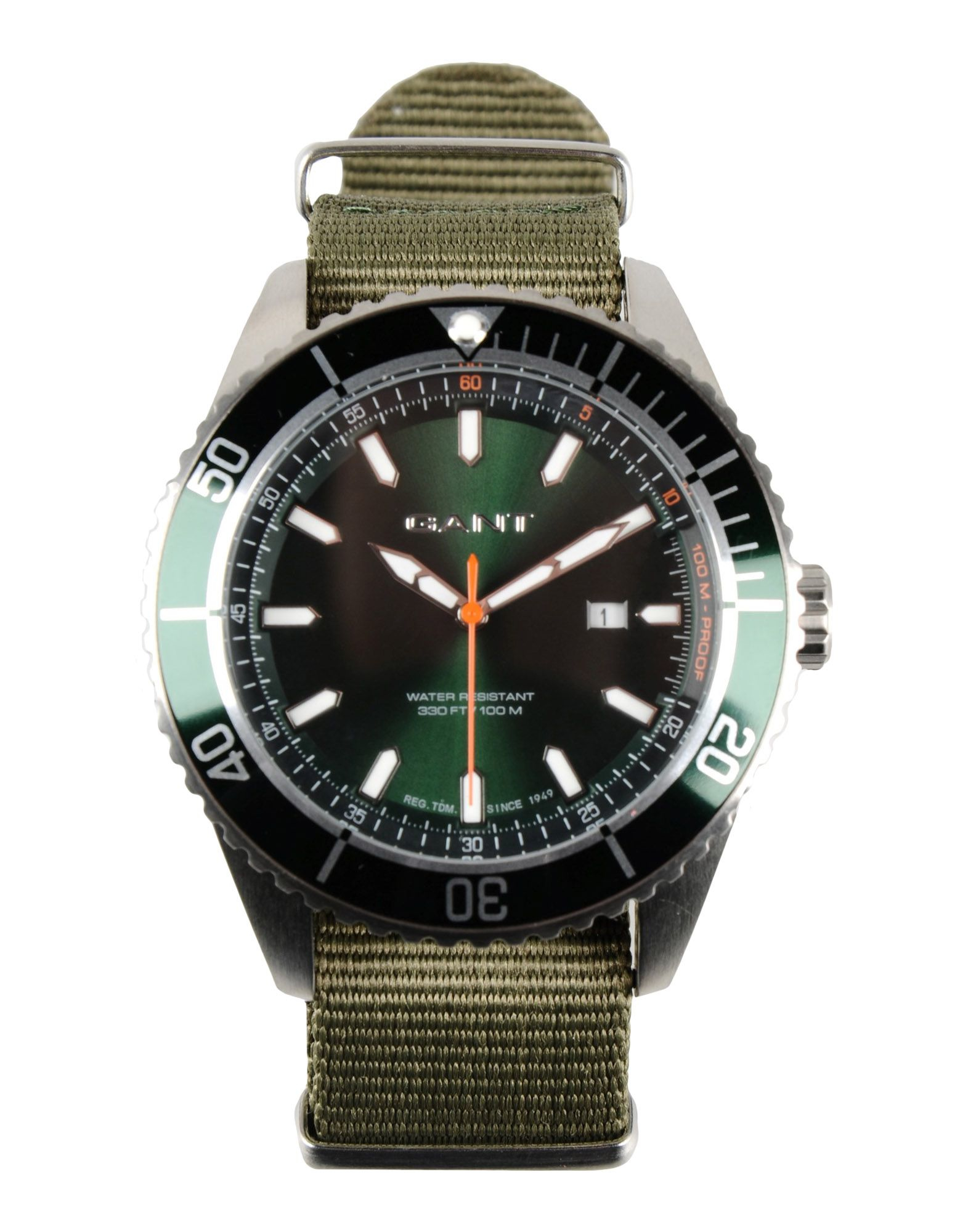 gant wrist in green for green lyst