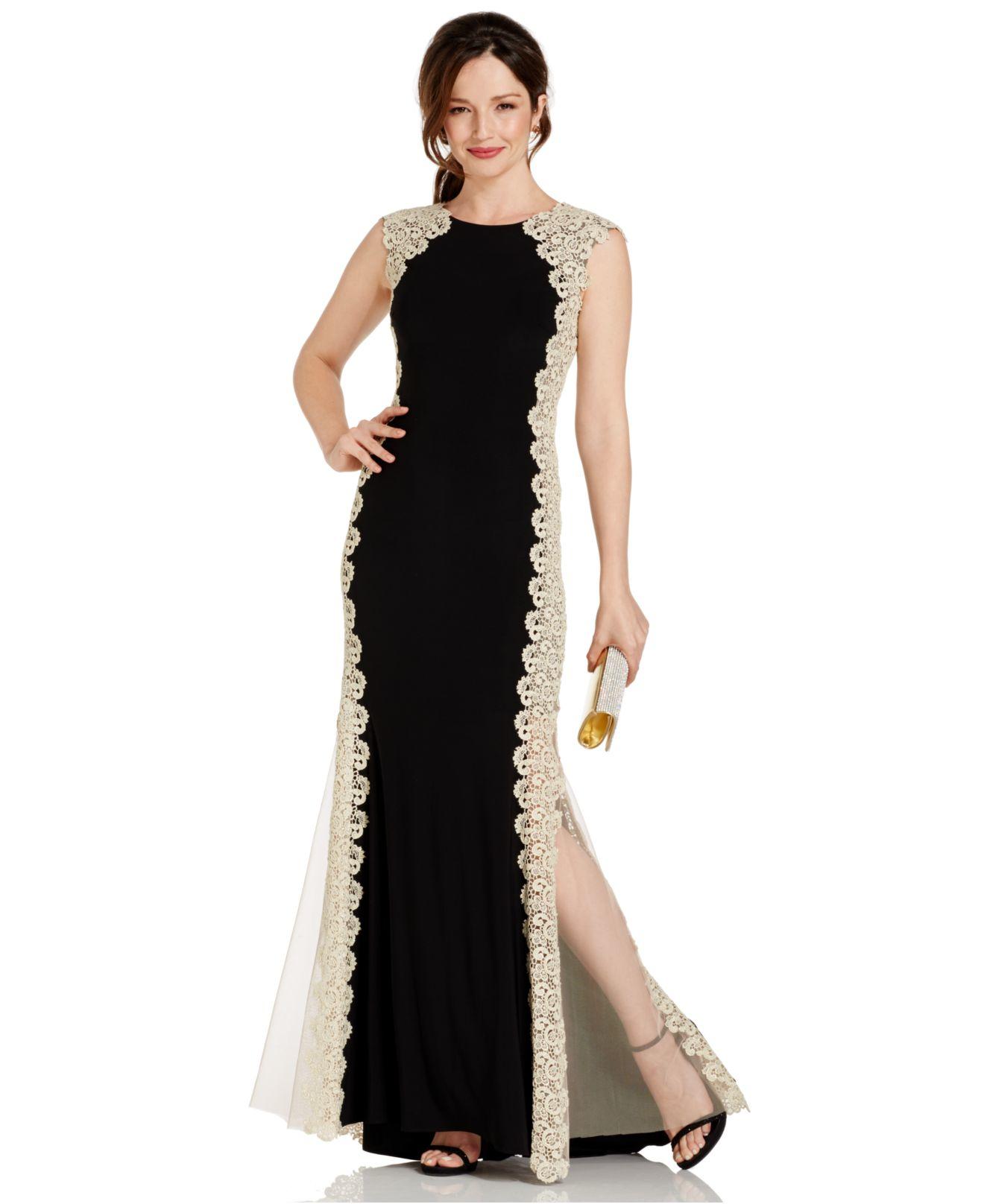 Lace dresses collection - Xscape dress navy lace