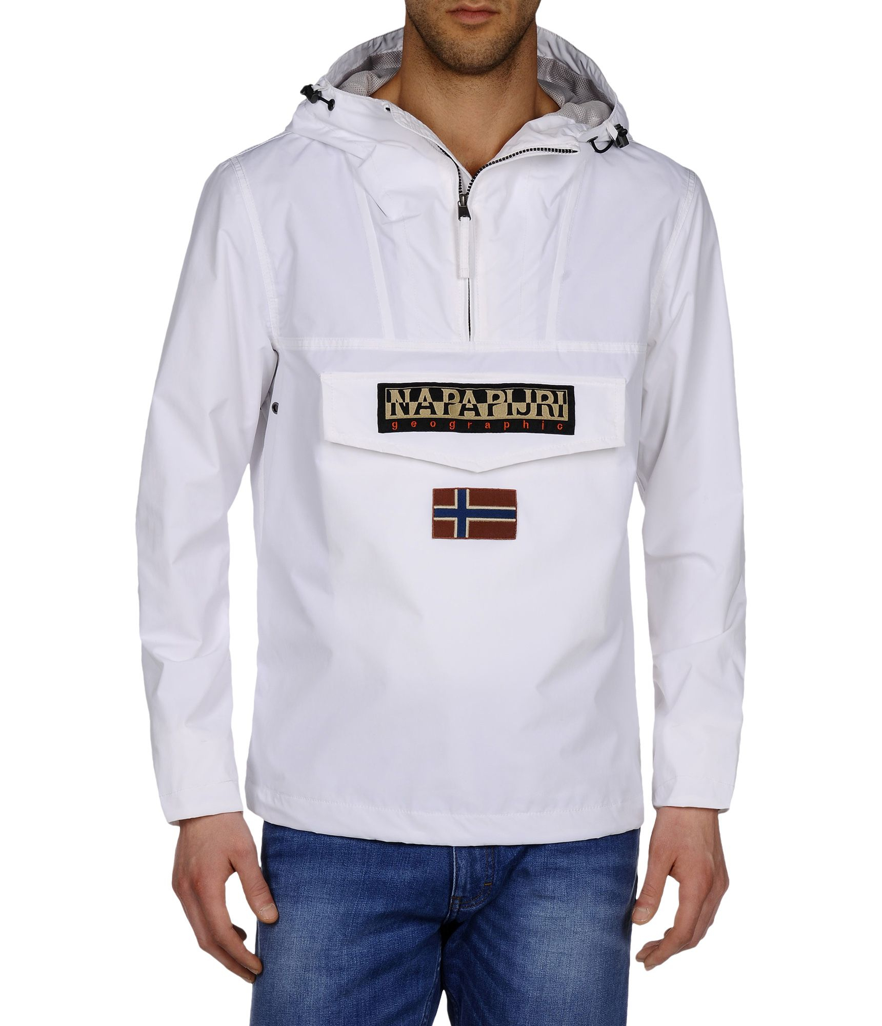 Napapijri Anorak in White for Men