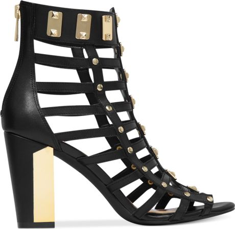Jessica Simpson Justinah Gladiator Sandals In Black Black
