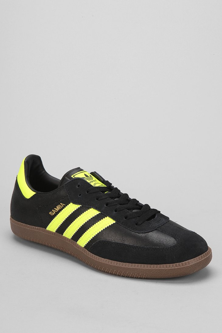 ce0089621 ... new zealand lyst adidas samba sneaker in yellow for men 28e0b 94784