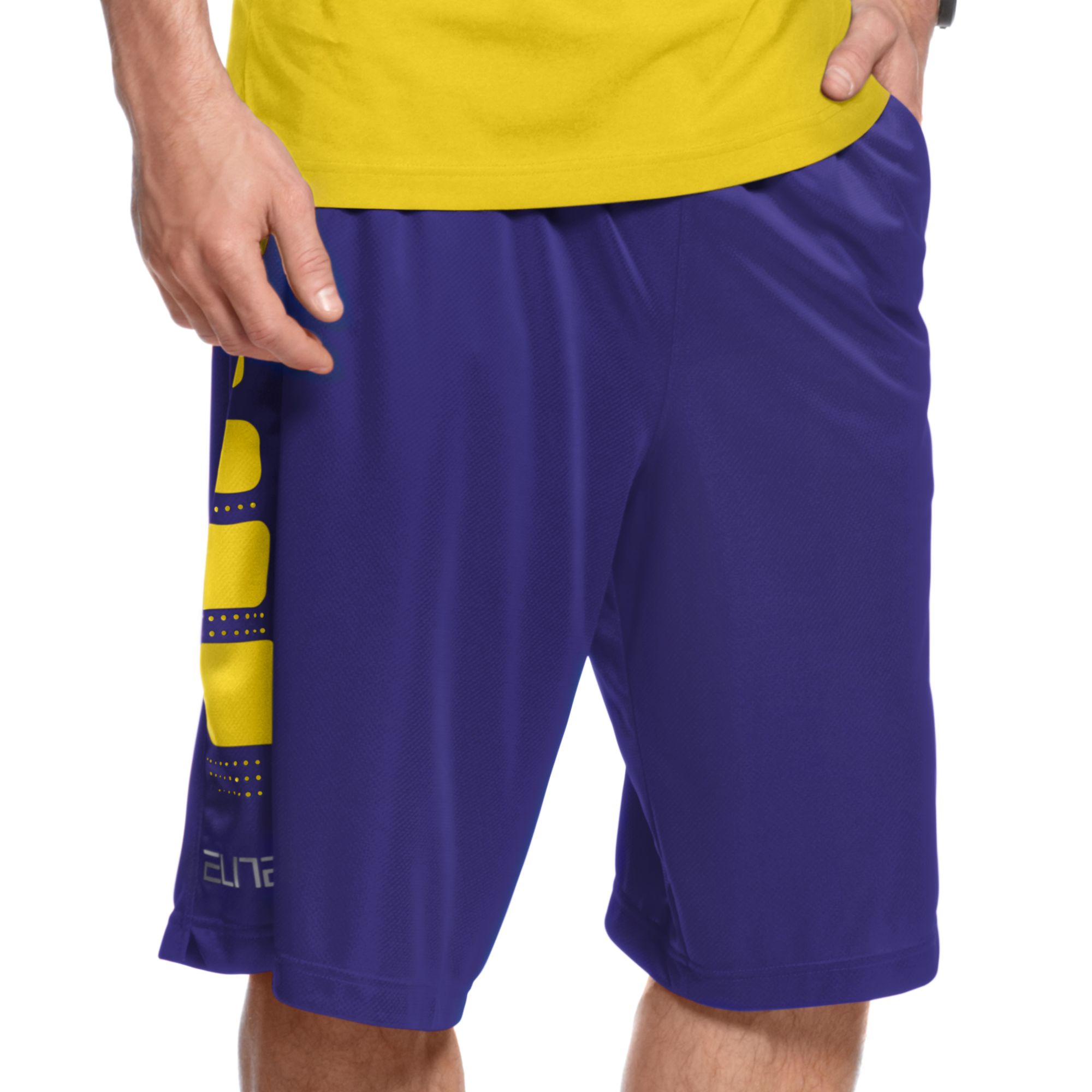 nike shorts purple
