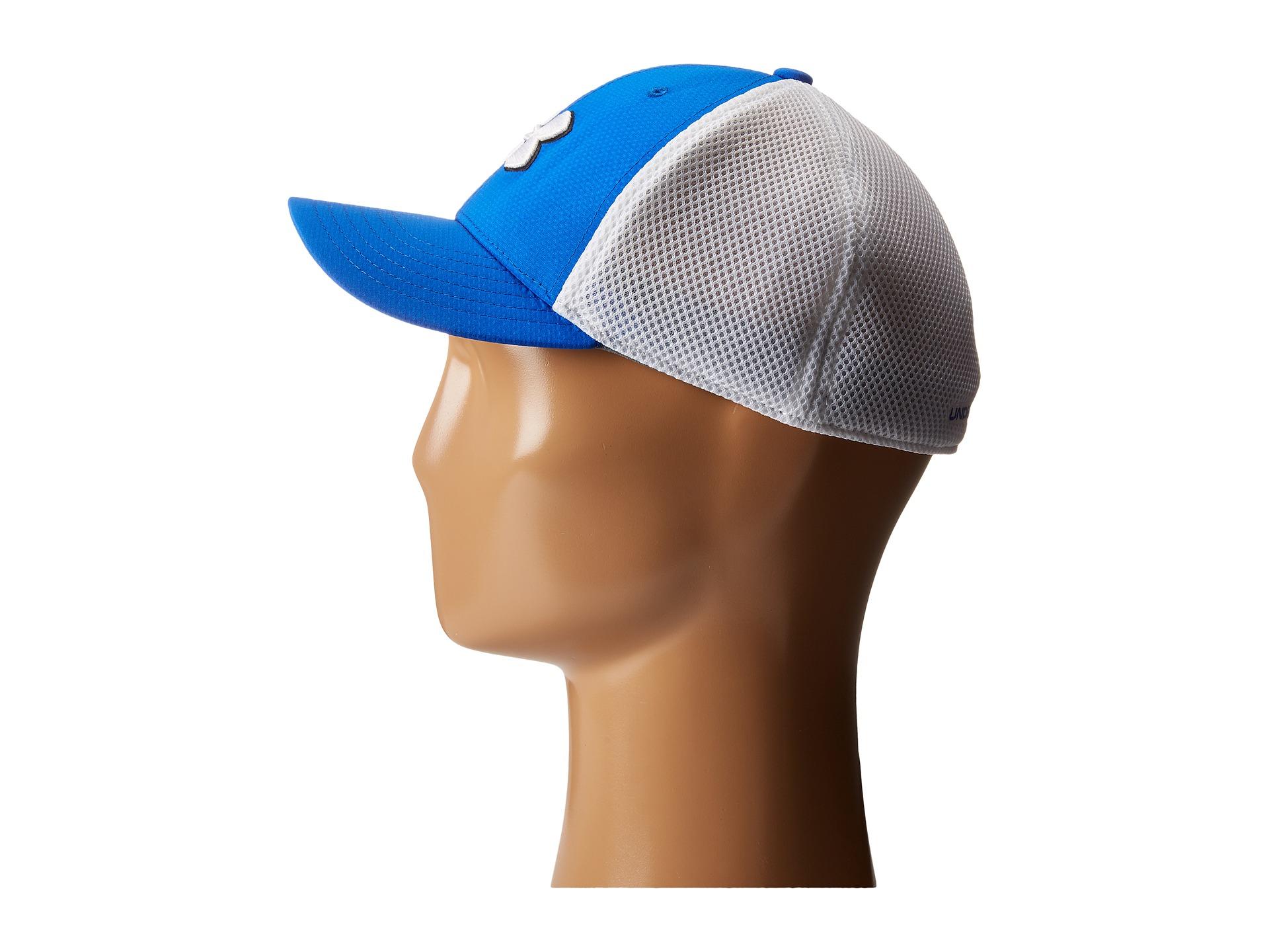 e7870280e23 ... new style lyst under armour ua golf classic mesh cap youth in blue for  men 19da8