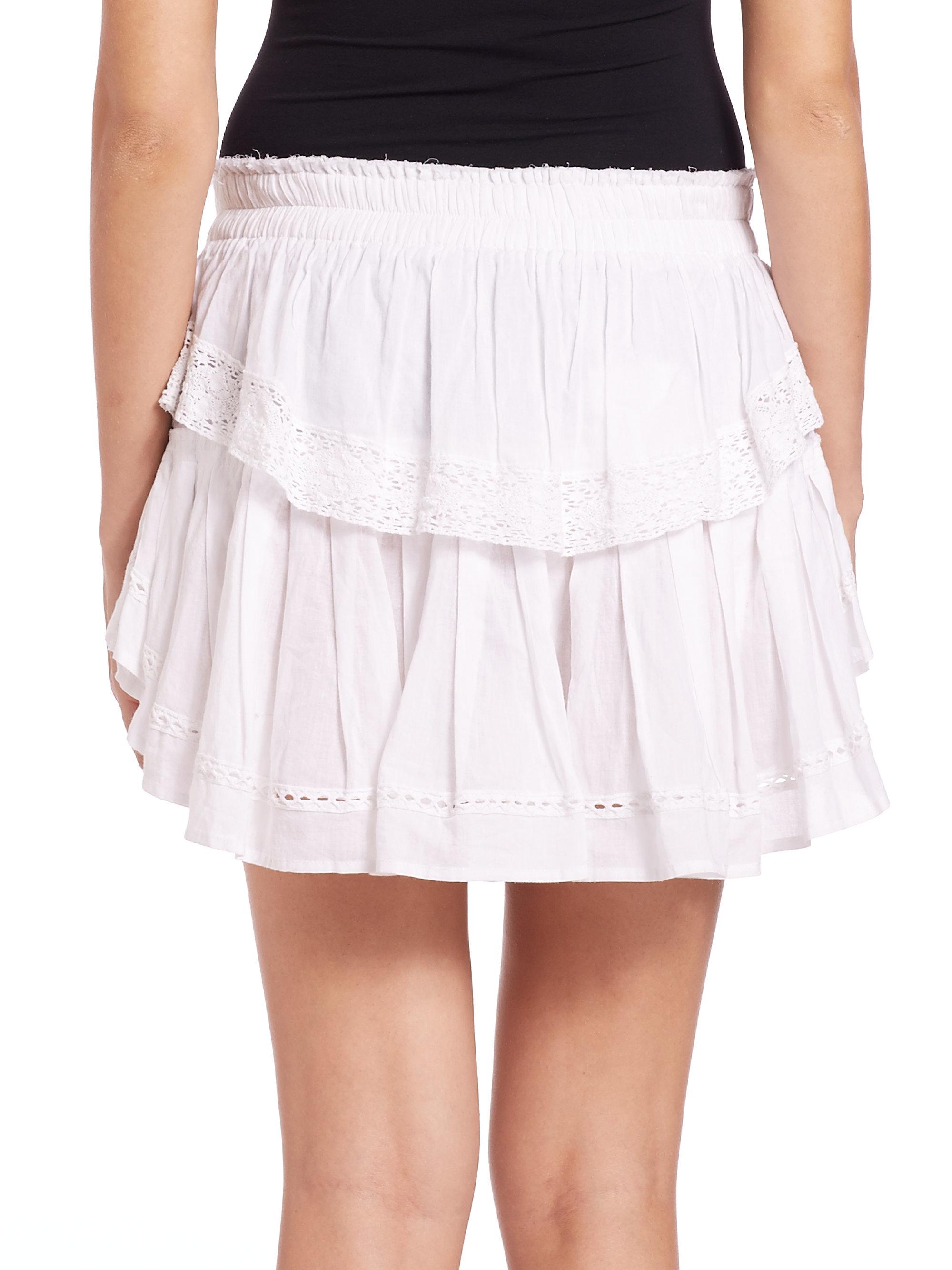 b67a3daea2b32 Cotton ruffles shorts Fitness t Shorts Skort and Polyvore