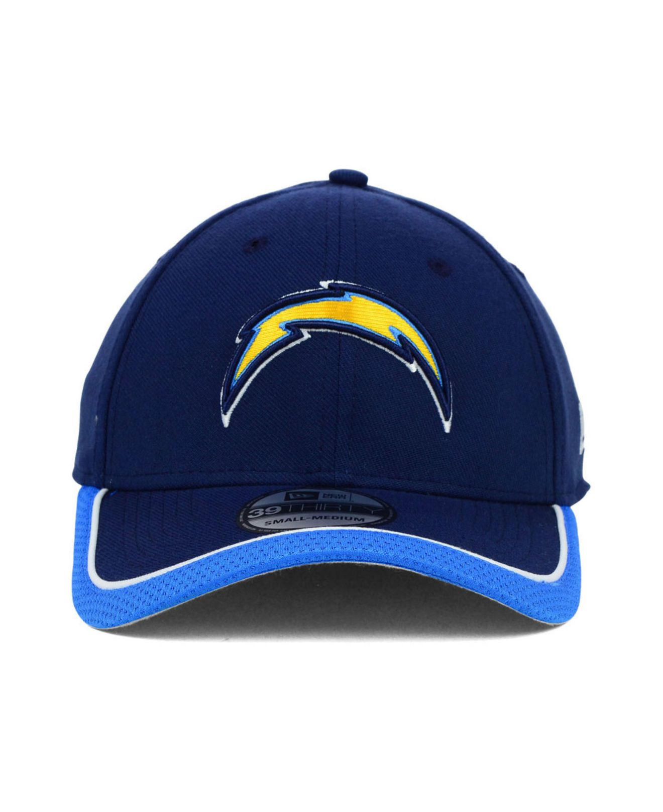 Ktz San Diego Chargers On Field 39thirty Cap In Blue For