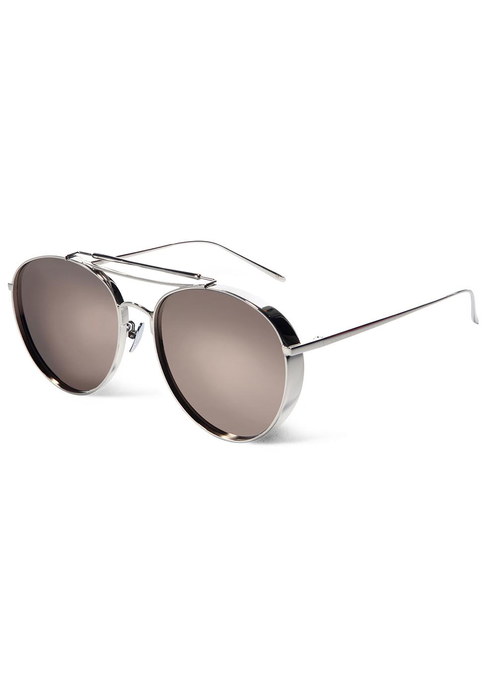 137f6e168537 Gentle Monster Big Bully Mirrored Aviator-style Sunglasses in ...