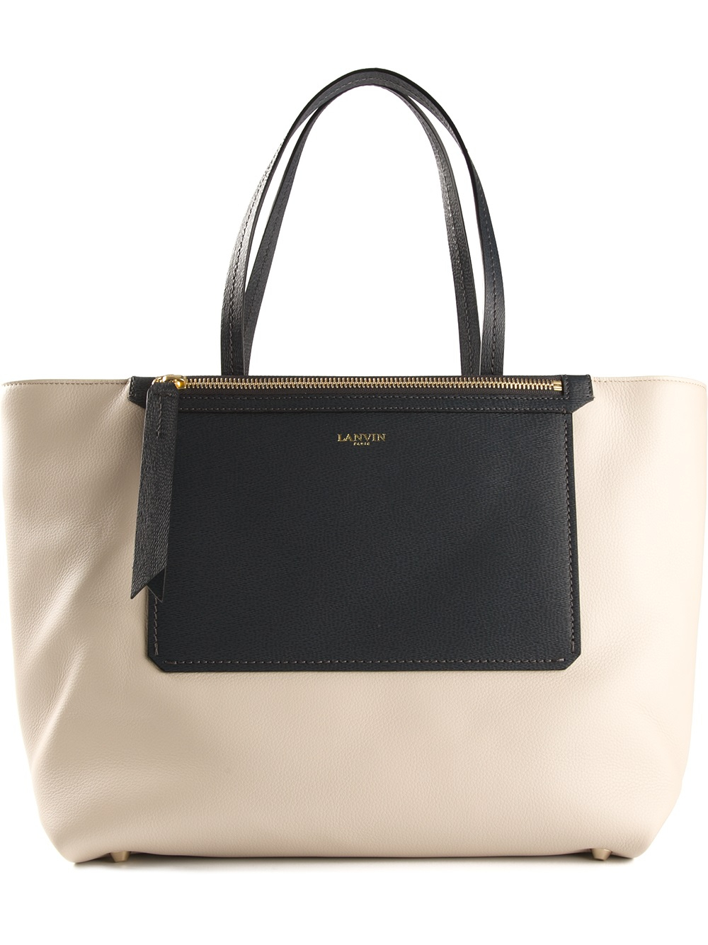 Fast Delivery Lanvin colour block tote Sale Websites Clearance Clearance Cheap Geniue Stockist Cheap Affordable T43hY