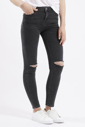 great look where to buy latest fashion Moto Washed Black Ripped Jamie Jeans