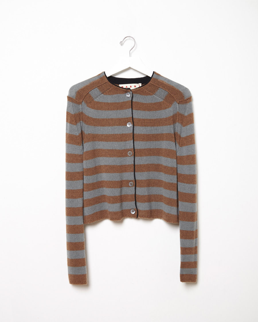 Pay With Visa For Sale Marni cashmere striped cardigan From China Low Shipping Fee Factory Outlet For Sale sB0j1