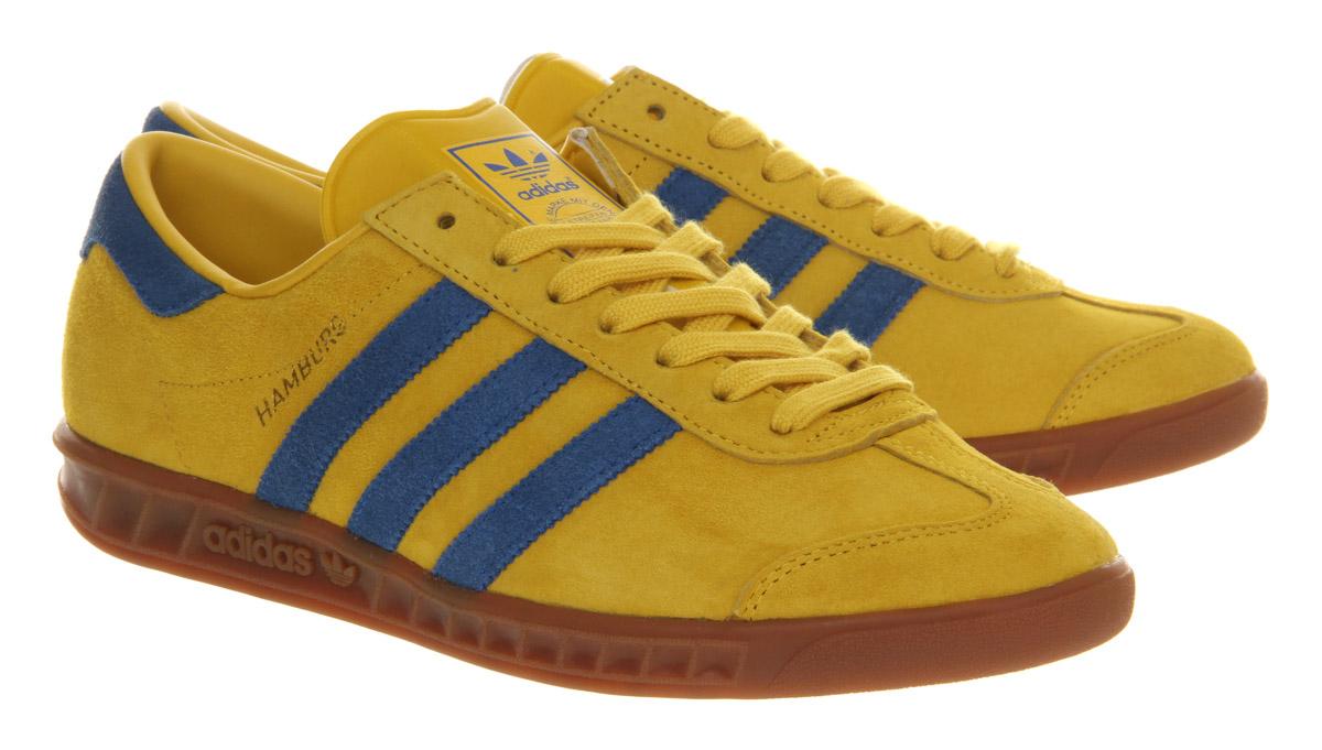 adidas hamburg yellow