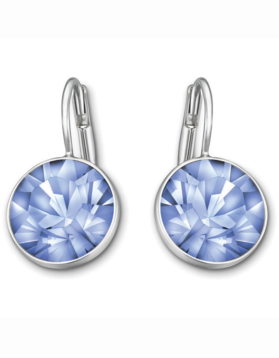 Swarovski Bella Light Sapphire Crystal Earrings In Blue Lyst