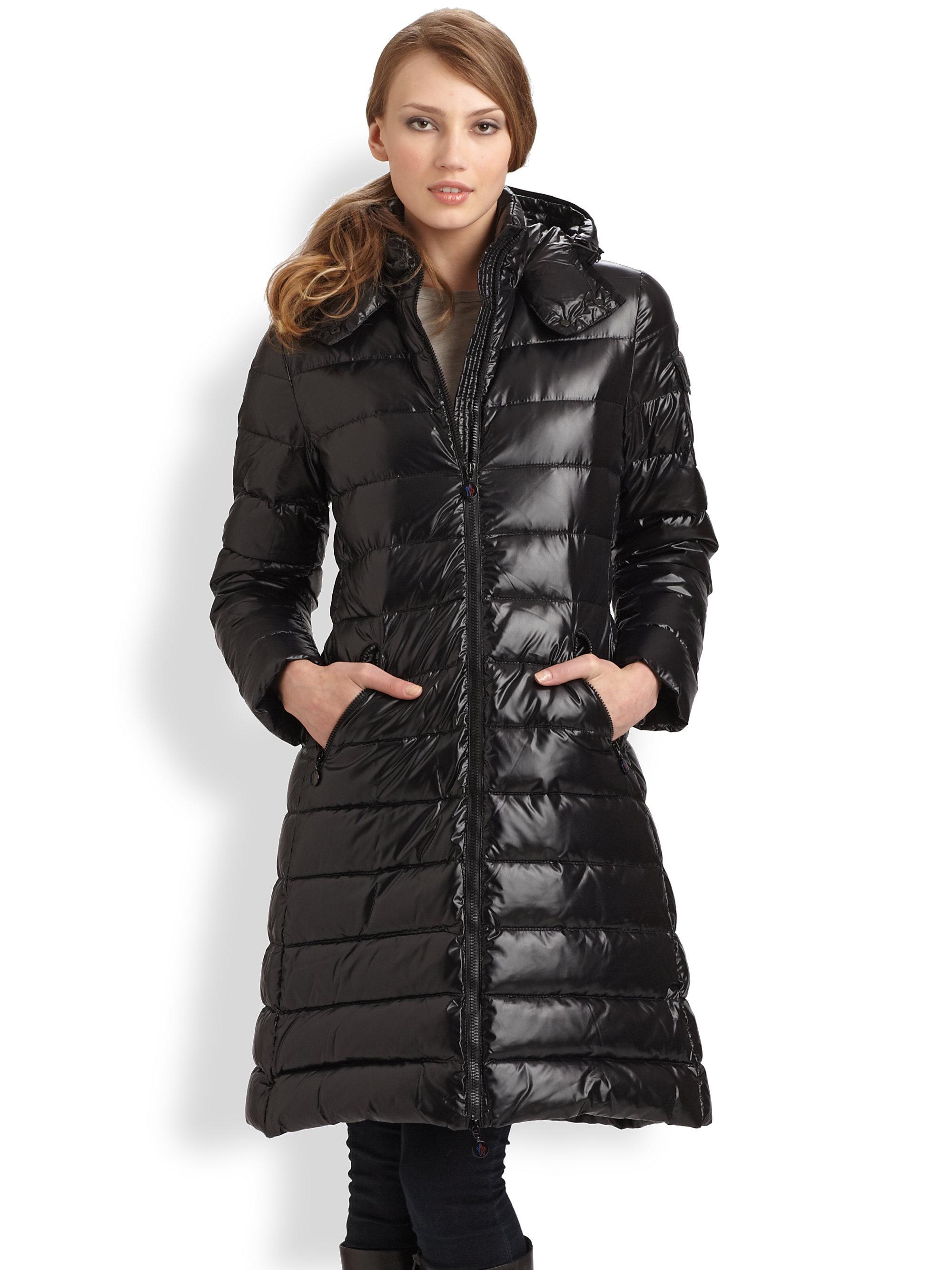 dc2ee3e56 Moncler Black Moka Puffer Jacket