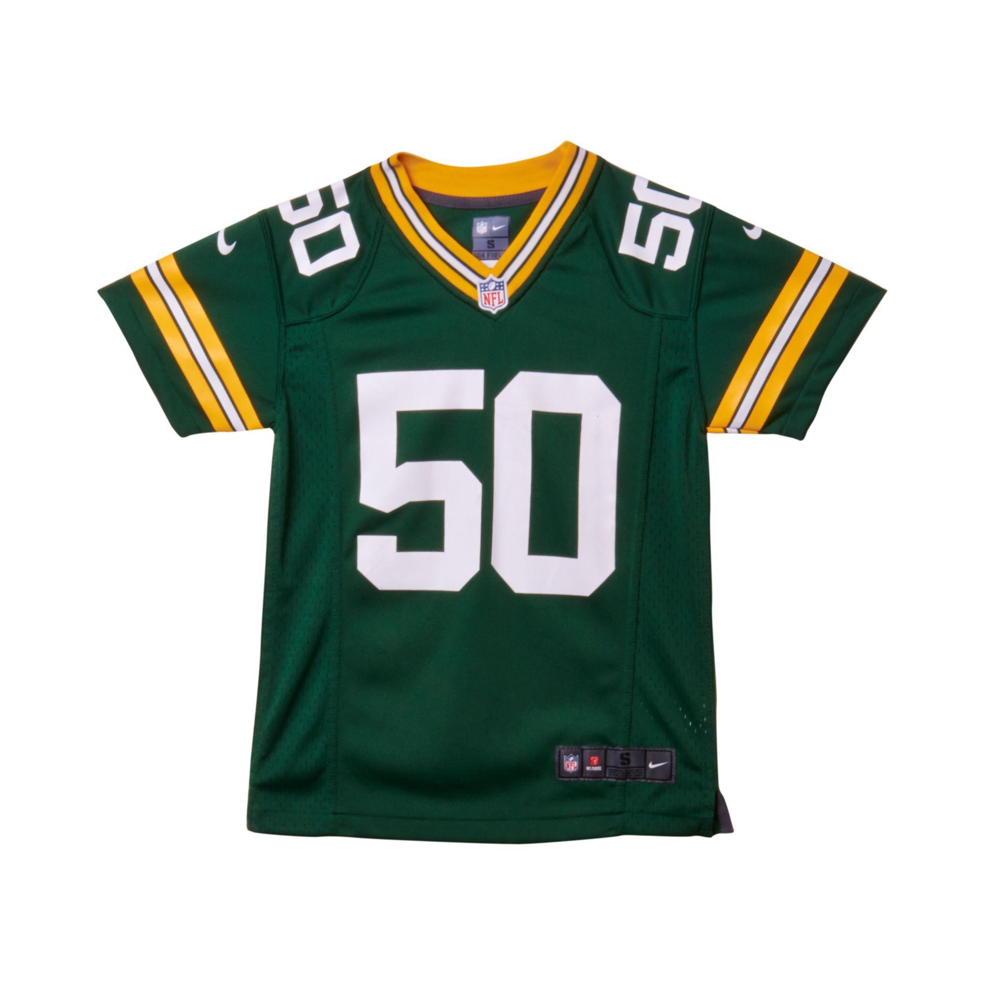 Nike Kids Aj Hawk Green Bay Packers Game Jersey In Green