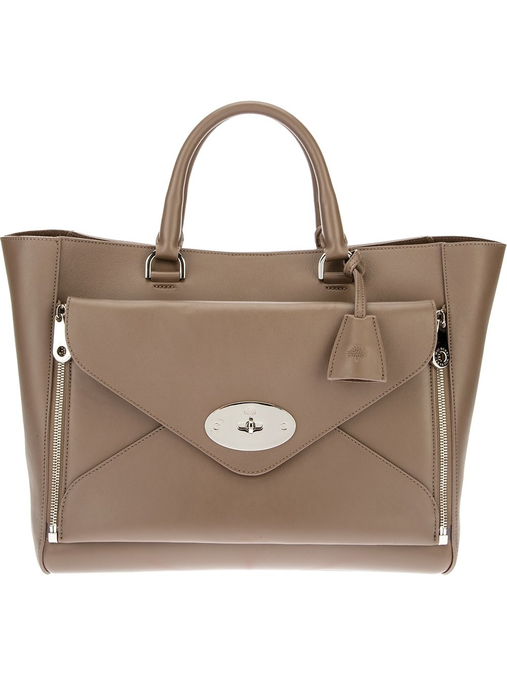ff644ece2639 Lyst - Mulberry Willow Tote in Gray
