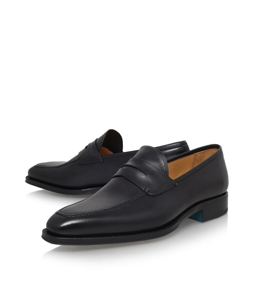 Pure Leather Loafer Shoes