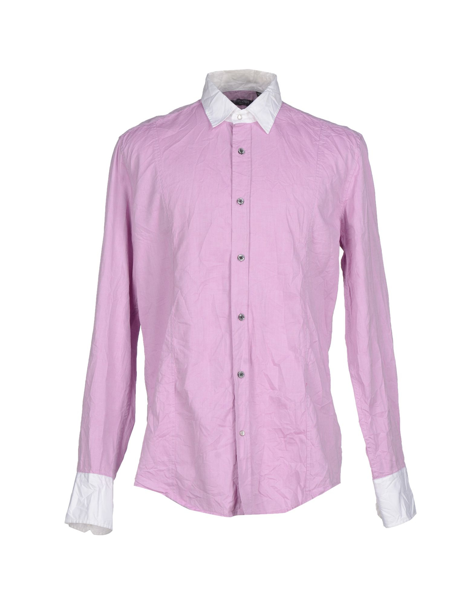 Lyst antony morato shirt in purple for men Light purple dress shirt men