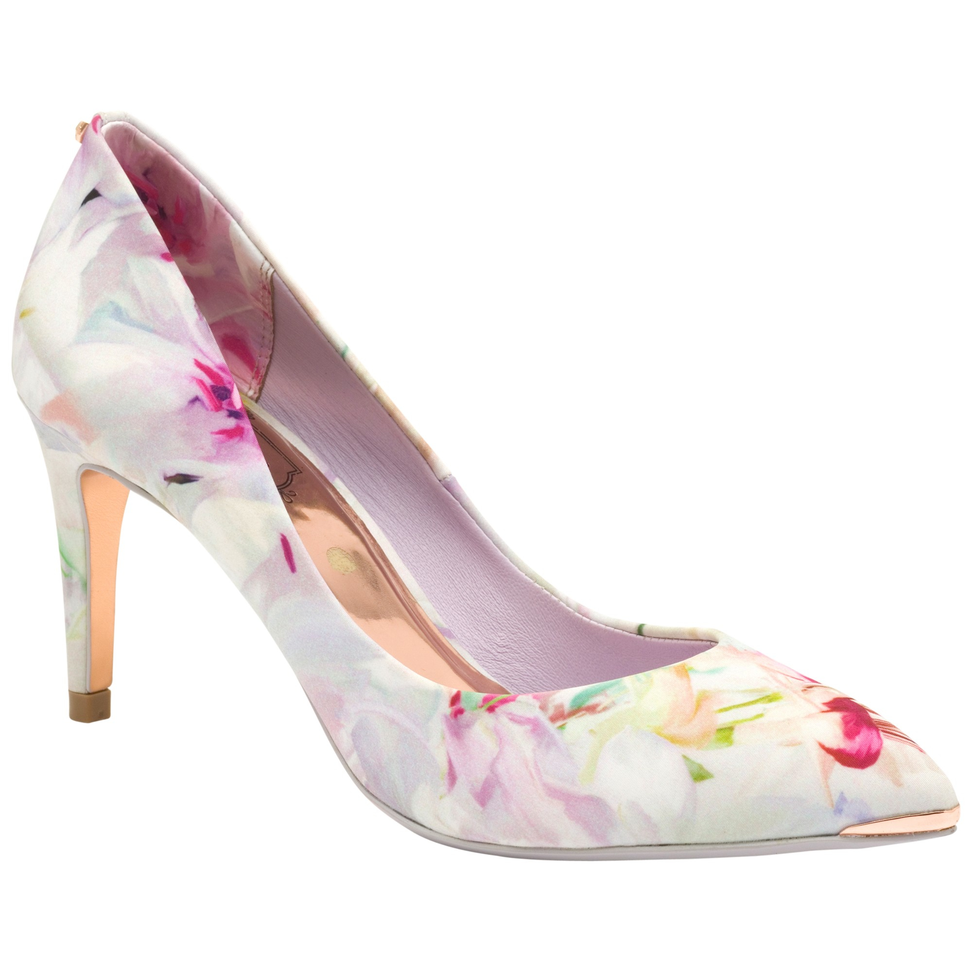 38594de902 Ted Baker Charmesa Floral Print Pointed Court Shoes - Lyst