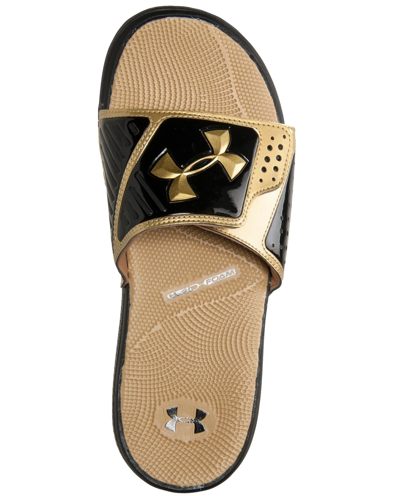 f357292b2ee2 Under Armour Men S Micro G Ev Slide Sandals From Finish Line in ...