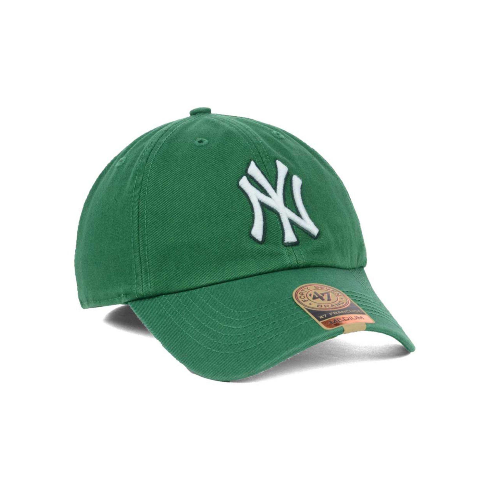 ae564226a8d62 ... usa lyst 47 brand new york yankees mlb kelly 47 franchise cap in green  e09b4 3b8dc