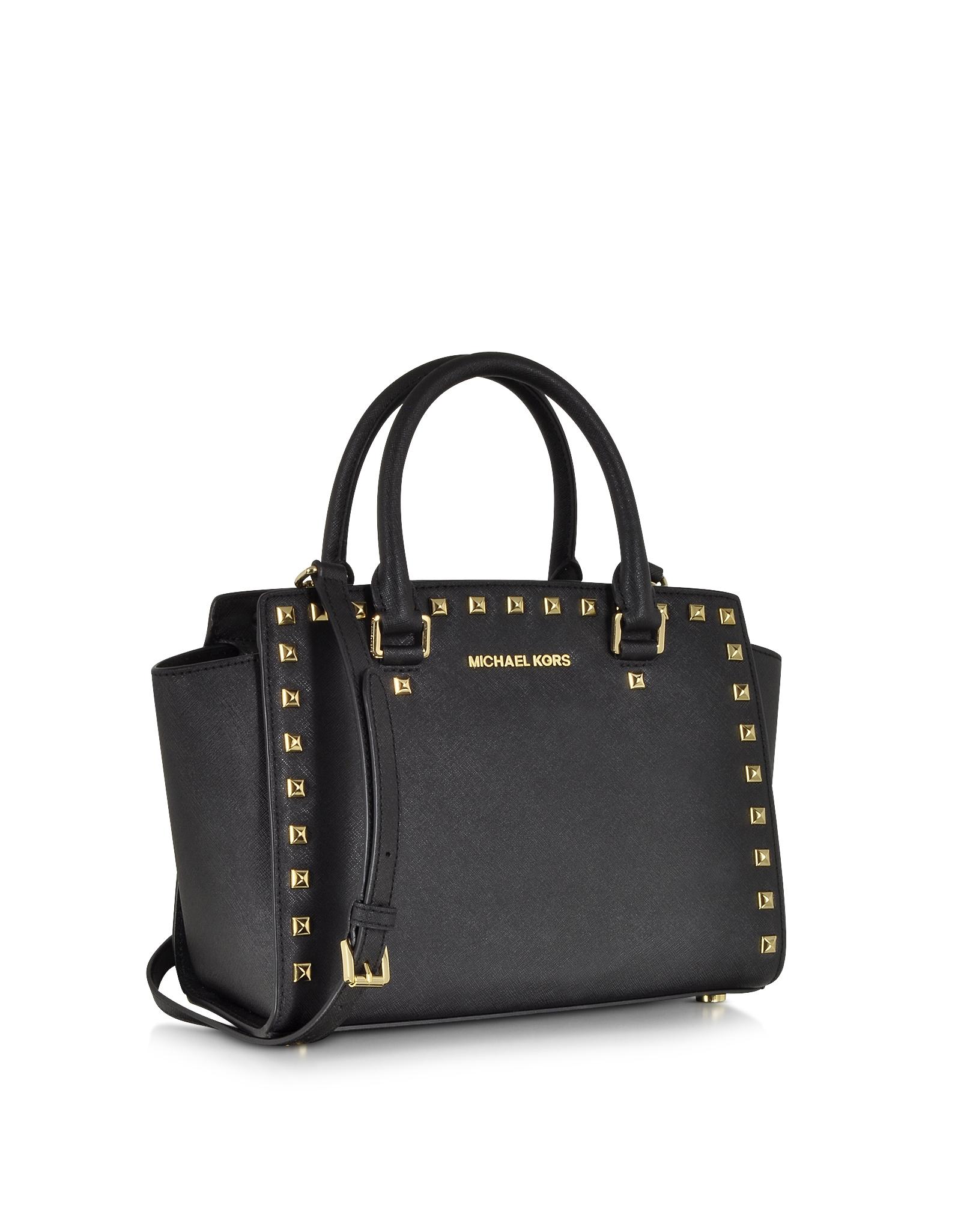 283b590335ff ... medium messenger bag black one size 0f5bf d92ef; authentic gallery.  womens black satchels womens michael by michael kors selma 8eb4c 6b1d5